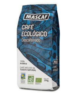 Café ECOLÓGICO CAFÉ MASCAF Molido 250g Descafeinado