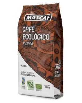 Café ECOLÓGICO CAFÉ MASCAF Molido 250g Intenso